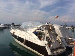 rifacimento interni barca nautica tappezzeria verona 1